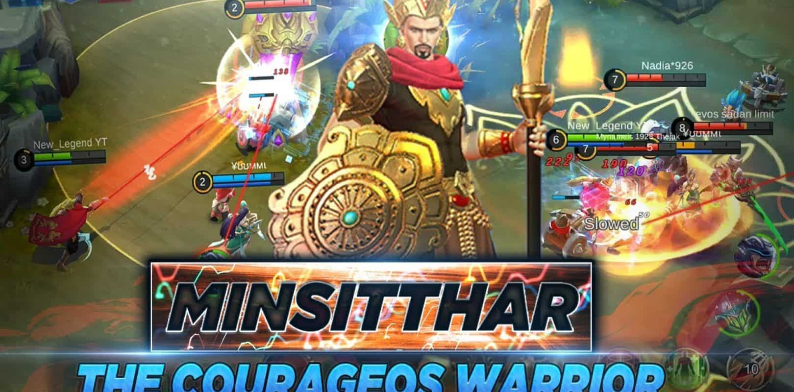 Mobile Legends u2013 NEW HERO MINSITTHAR  1.3.24 Patch Notes