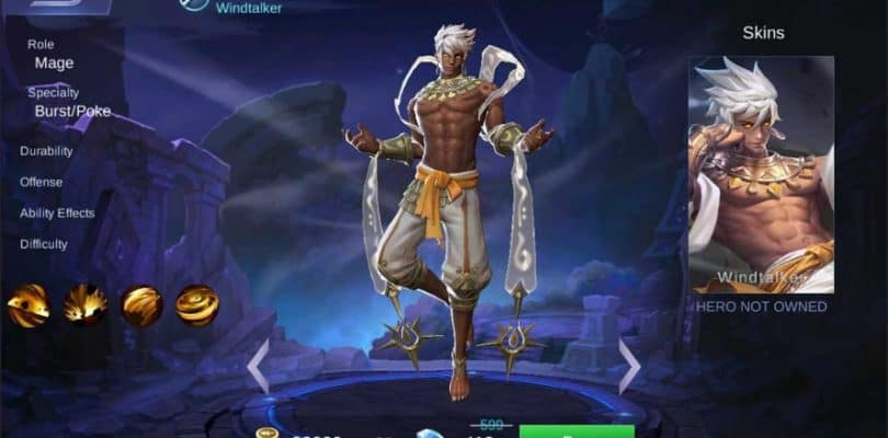 Mobile Legends – 1.3.44 Patch Notes | NEW HERO VALE (WINDTALKER)