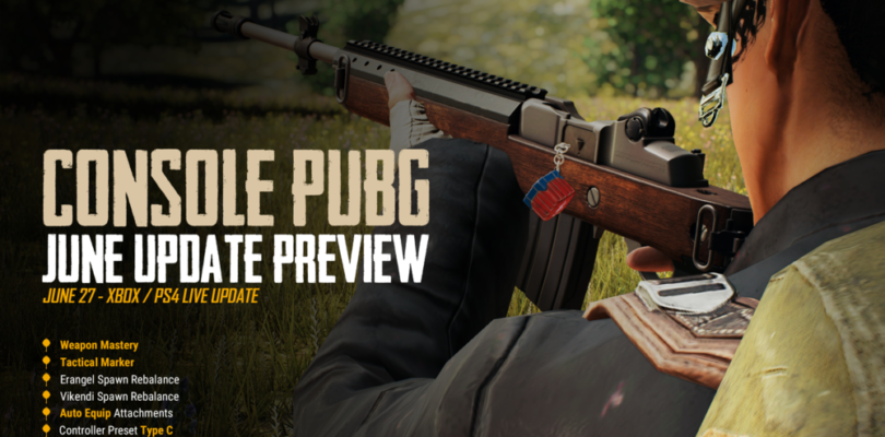 PUBG – June 2019 Console Patch Notes