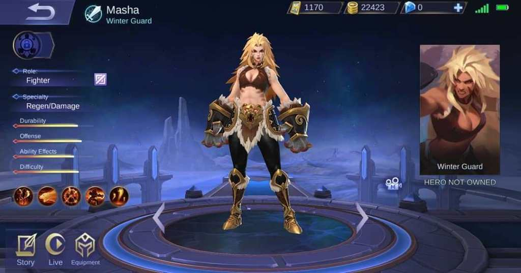 Mobile Legends Recharge Using Load