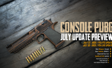 PUBG – July 2019 | Console Patch Notes