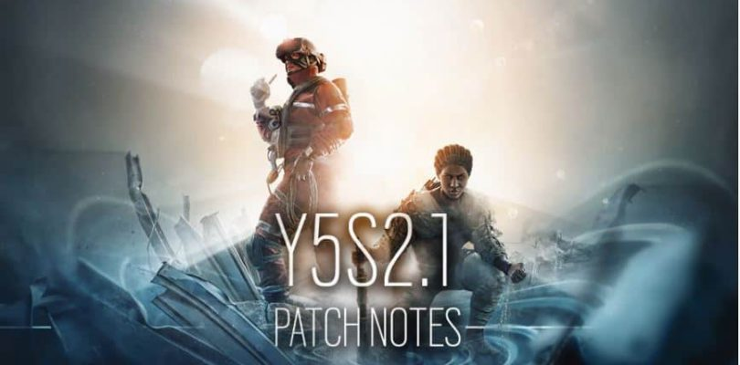 Rainbow Six: Siege – Y5S2.1 Patch Notes