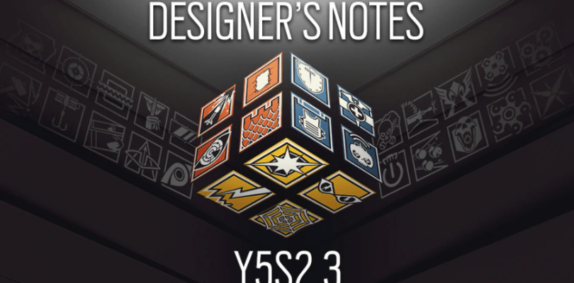 Rainbow Six: Siege – Y5S2.3 Patch Notes | Designer's Notes